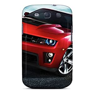 Quality MeSusges Case Cover With 2012 Chevrolet Camaro Zr1 Nice Appearance Compatible With Galaxy S3