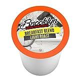 Brooklyn Beans Breakfast Blend Single-Cup coffee for Keurig K-Cup Brewers, 40 Count
