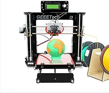 Impresora 3D I3 Pro C WER Dual Extrusora 3D Conjunto de bricolaje ...