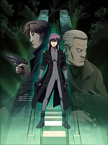 Amazon Com Sv6431 Ghost In The Shell Batou Motoko Kusanagi Togusa Anime Manga Art 24x18 Print Poster Posters Prints