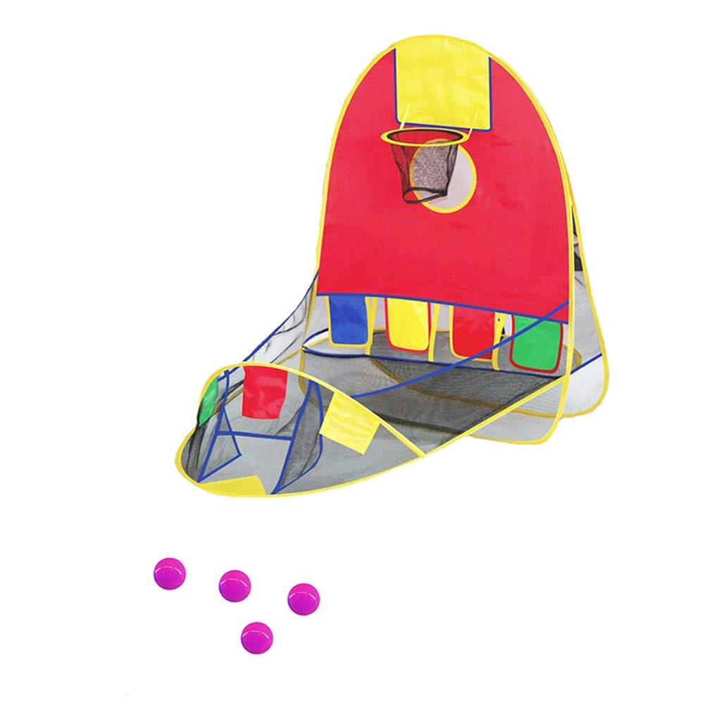 子供用 子供用 ビーチ 芝生 ボール プール プレイ バスケット テント ハウス バスケットボール 13464613584  1# B07K6Q5YLF