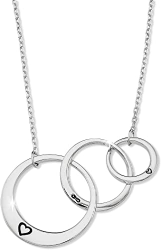 Amazon Com Generations Necklace For Grandma Gifts Sterling