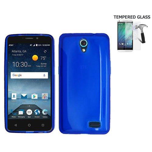 zte prelude blue phone case - 5