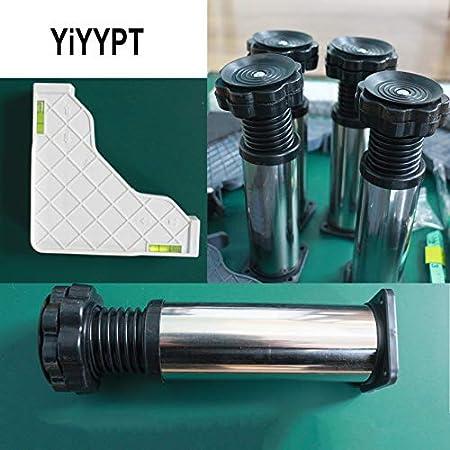 YiHYSj Soporte de Base para Lavadora Multifunciona Altura 29-32cm Base Ajustable Refrigerador Soporte Largo/Ancho 43-65cm Heightening Estante para Mueble vinotecas lavavajillas (12Legs,29-32cm)