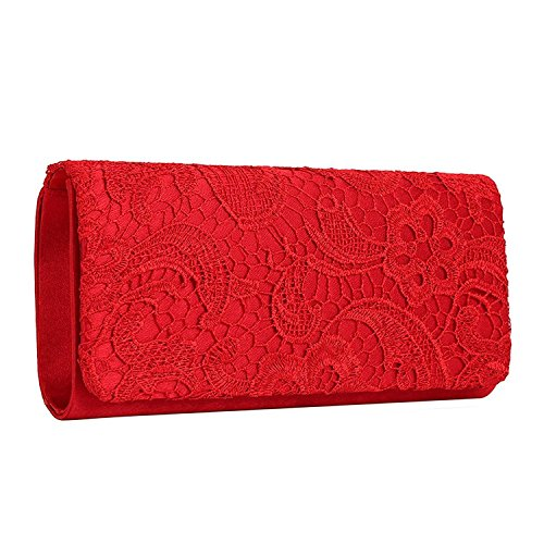 Evening Bag Red - 1