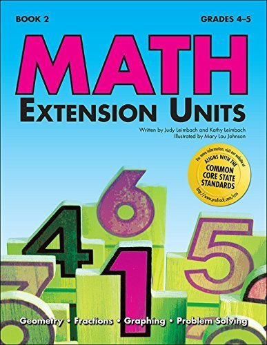 Math Extension Units Book 2 by Kathy Leimbach (2005-01-01)