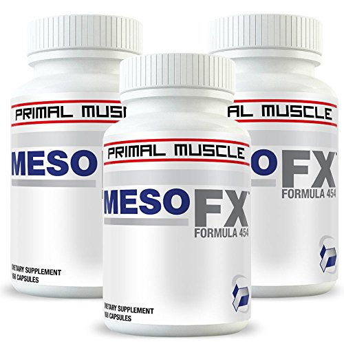 Mesobolin 3 Bottles For The Cost of 2! (3 Month Supply) Gain Weight Safely, Legally And FAST!!! This Is A Buy-2-Get-1-FREE Package! by Primal Muscle