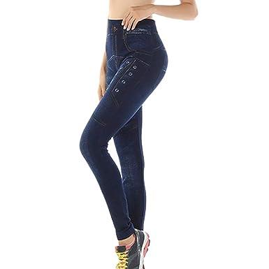 cinnamou Pantalon Yoga Mujer, Moda Leggings Estampado ...