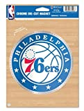 NBA Philadelphia 76ers 6 x 9 inch Chrome Magnet