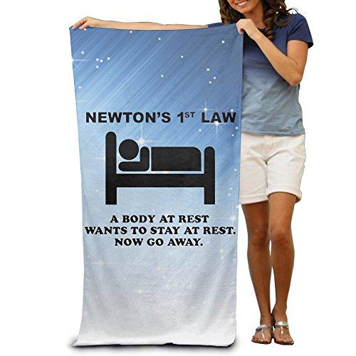 ShanxianP Newton's 1st Law - Now Go Away Soft Fast Drying Beach Towel Pool Towel - Beach Sunglasses Daytona