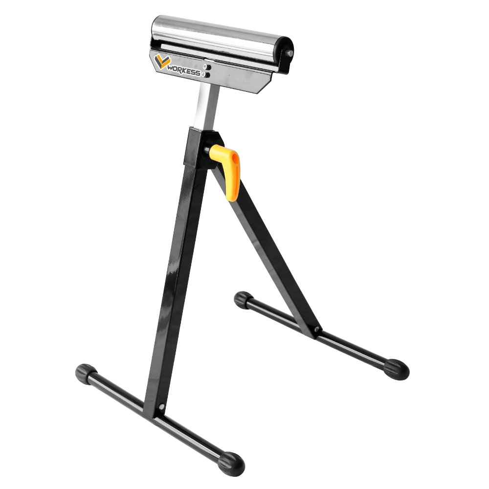 Single Roller Support Stand 132 Lbs Load Capacity,Single Pack WK-RS004