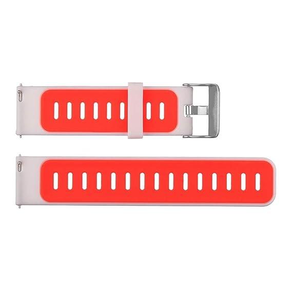 Celendi_Watch - 1 pulsera deportiva de silicona + 1 funda de marco ...