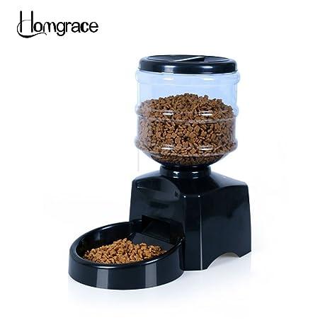 homgrace automático dispensador de forro Forro Automat gato 5.5 L trockenfutter dispensador de comida para perros