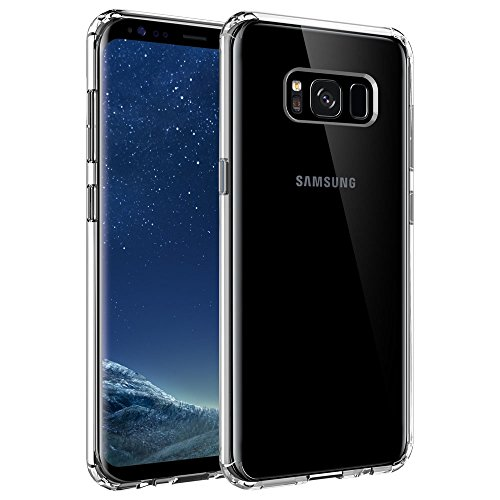Galaxy S8 Case. SYONER [Scratch Resistant] Ultra Slim Clear Phone Case Cover for Samsung Galaxy S8
