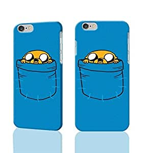 """ADVENTURE TIME JAKE THE DOG IN A POCKET 3D Rough iphone 6 -4.7 inches Case Skin, fashion design image custom iPhone 6 - 4.7 inches , durable iphone 6 hard 3D case cover for iphone 6 (4.7""""), Case New Design By Codystore"""
