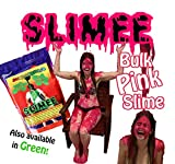 Instant PINK Slime Powder mix Make buckets to dump on heads Bulk 30 Gal supply Just add water DIY Slimee kit Goo for fundraising party games, blaster battle, balloon bombs, wrestling Fill baths, tubs or pool