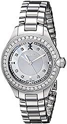 EBEL Women's 1216096 Onde Analog Display Swiss Quartz Silver Watch