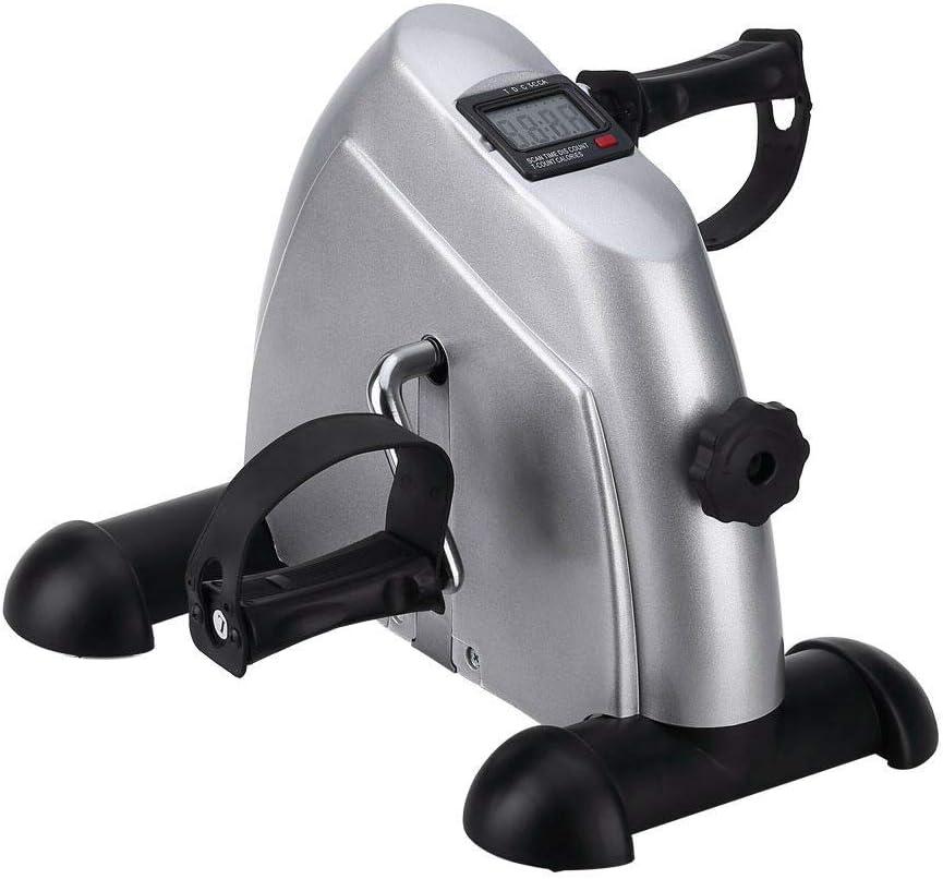 Heimtrainer Mini Bike Exerciser Fahrradtrainer LCD Minifahrrad
