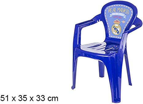 Silla infantil del Real Madrid C.F.: Amazon.es: Bebé