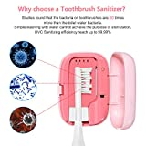 Rechargeable Toothbrush Sanitizer Case UVC Small