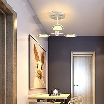 LWYJRXDD Deckenleuchte/3/6/8 Köpfe Dimming LED Deckenleuchten Lampe ...