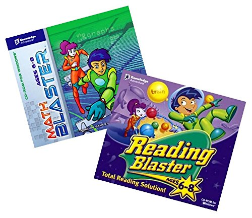 Math and Reading Blaster Age 6 - 8 (Jewel Case)