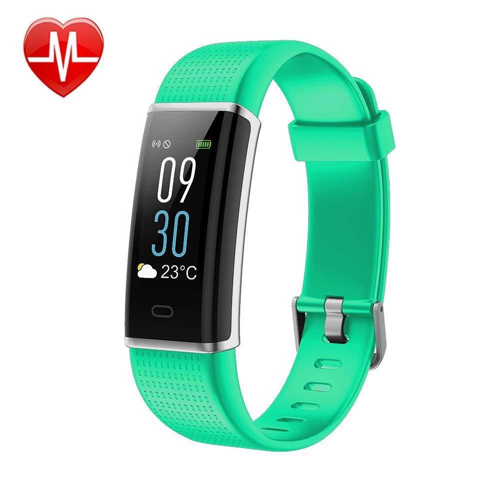 Pulsera Actividad Inteligente Impermeable IP68 Pantalla 0.96 a Color 14 Modalidades 12-15 días Monitor de Ritmo Cardíaco con Monitor de Calorías GPS ...