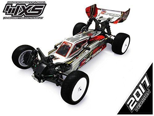Buggy Electric 4wd Kit (CARISMA RACING 4XS 1/10 4WD COMPETITION ELECTRIC BUGGY KIT 2017 VERSION)