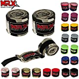 MRX BOXING & FITNESS Boxing Hand Wraps 100% Cotton Multi Colors Great for MMA Boxing Muay Thai Kick Boxing Training 160 Length (Camo Snow)