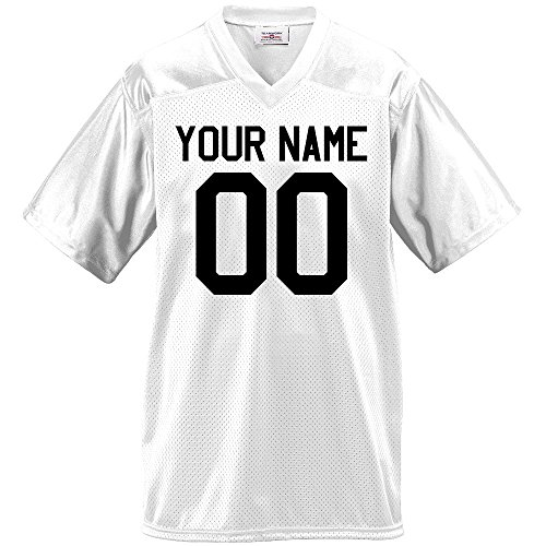Football T-shirt Designs - Custom Football Jersey for Youth and Adult you Design Online in Adult 2X-Large in White