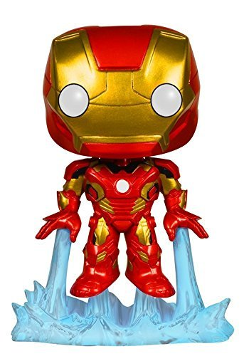 Funko POP Marvel 3 3/4 Inch Avengers 2 Iron Man Bobble Head Action Figure Dolls Toys