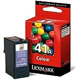Lexmark Cartouche d'encre d'origine 41A 1 x couleur (cyan, magenta, jaune)