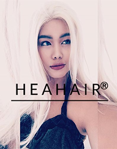 [Heahair Fashion Style Natural Looking Synthetic Lace Front Wig for Party (Blonde)] (Beard Long Hair Costume Ideas)