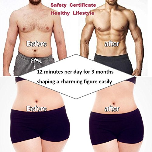 Abdominal Trainers Waist Trimmers Intelligent Fitness Exercise Set Slimming Instrument Belt 3 Host by FIINSS (Image #1)