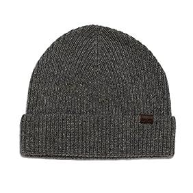 Rich Cotton Wool Beanie Hat 100% Merino Wool (Grey)