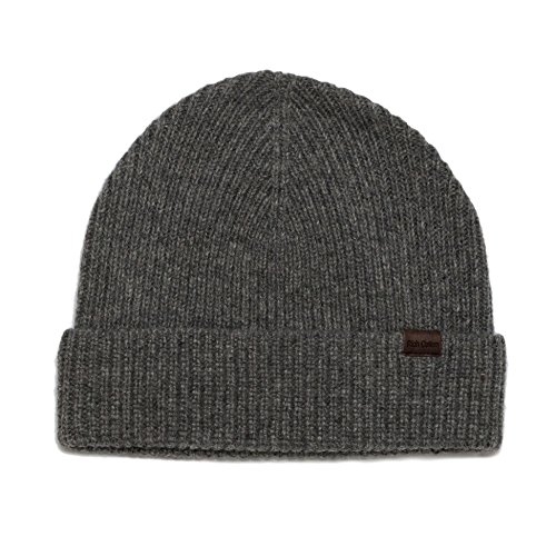(Rich Cotton Beanie (Grey) )