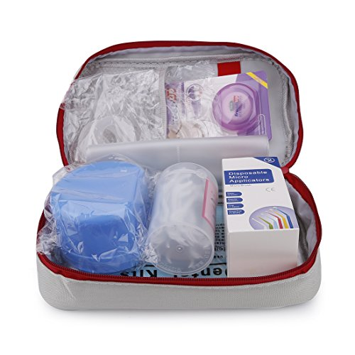 Healva Home Emergency Dental Medic Kit, Professional Oral Care Kit Including Floss, Denture Bath Box, Denture Night Guard and other Examination& Cleaning Equipment by Healva (Image #2)