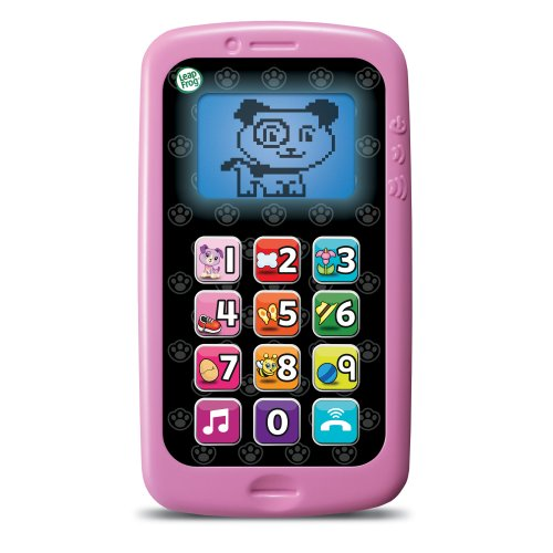LeapFrog Chat And Count Smart Phone, Violet (Kids Smartphone Toy)