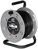 SMJ CTH2513 - 4SKT 25MTR 13A 240V Heavy Duty Cable Reel with Thermal Cut-Out