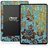 Skins Design für Golden-blue vintage Kindle Paperwhite / Paperwhite 3G - amazon Design Folie