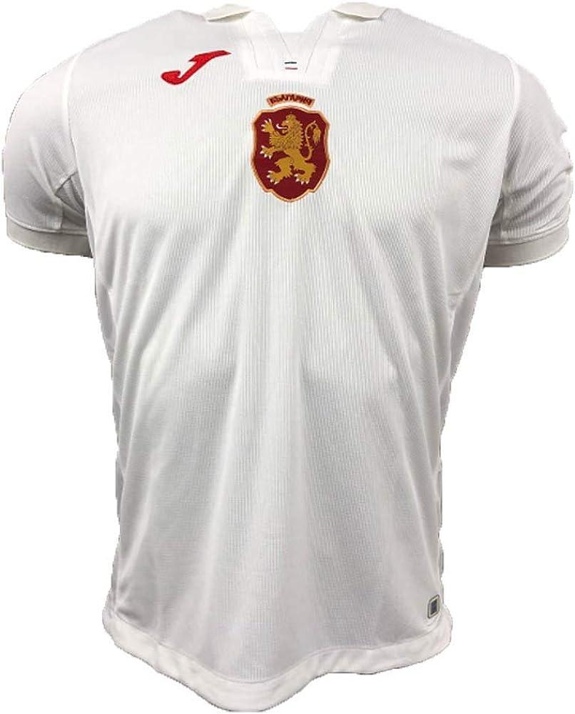 Joma 2018-2019 Bulgaria Home Football Soccer T-Shirt Jersey