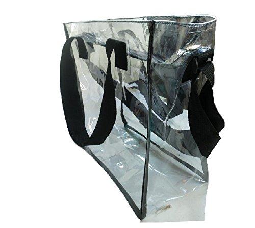 Stadium NFL Approved Clear Bag Tote Handbag Messenger Bag (Tote) - Bam Bags Handbag