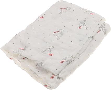 Bébé Serviette Swaddle Couvertures d/'Emmaillotement Sac de Couchage Coton