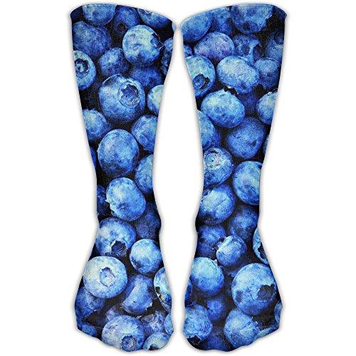 Blueberry Bullet (Blueberries Sports Socks Custom Long Tube Stockings Casual Socks Perfect Gift For Friends)