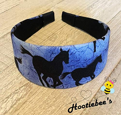 Blue Horses Headband