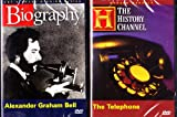 Alexander Graham Bell Biography , Modern Marvels the Telephone : History Channel Telephone 2 Pack