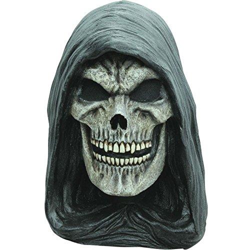 Hooded Grim Reaper Mask ()
