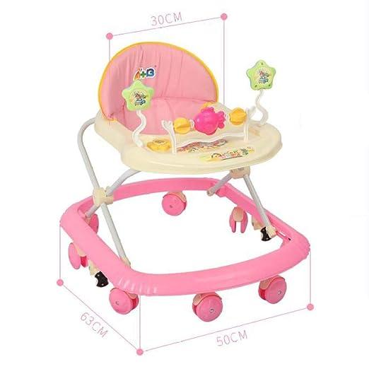 MINISU Infantil Andador de bebé, estándar-Rosa Viajar (Color ...