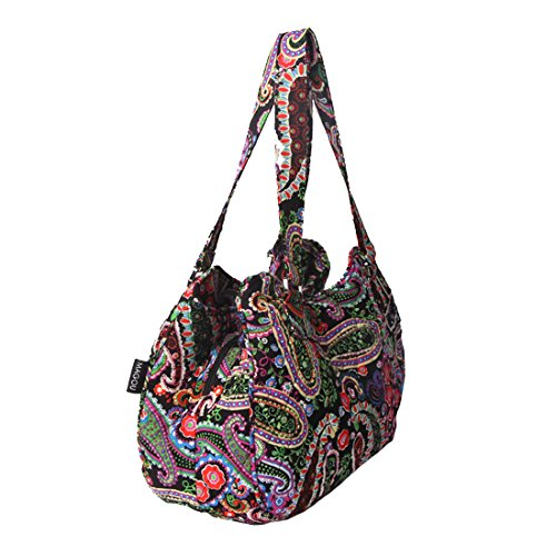 Spring Bag Cotton Paisley Bags Handle Quilted Shoulder 6xYf7I0q