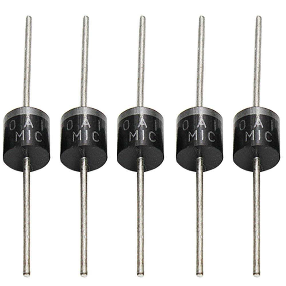 Fliyeong Rectifier Diode 10A Plastic Case Bridge Rectifier Diode Silicon Diode 5 Pcs